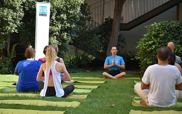 Alumni Meeting Barcelona GSE Yoga Session