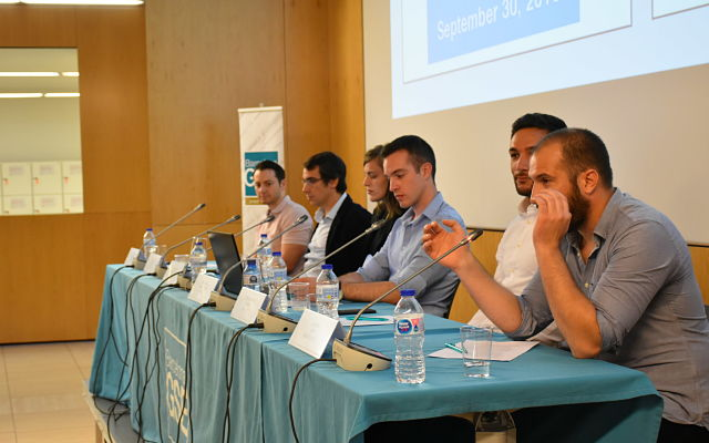 Barcelona GSE alumni panelists