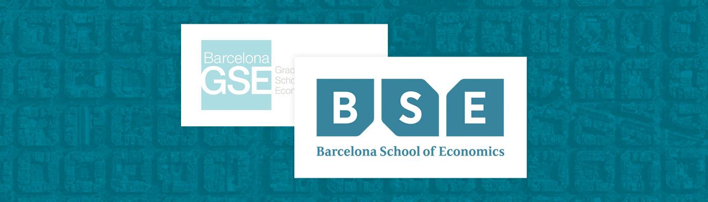 Barcelona GSE logo and new Barcelona School of Economics logo