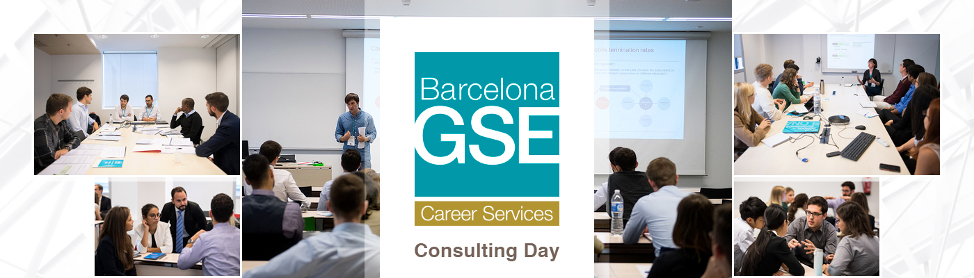 Activities illustrating the sessions at the Consulting Day