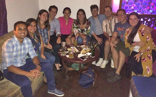 Alumni in Lima, Peru