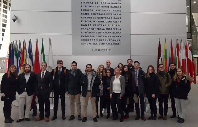 Barcelona GSE Visits ECB