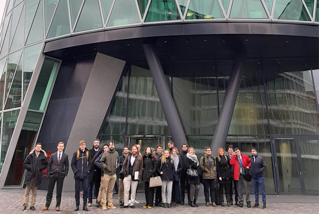 Students outside the ECB