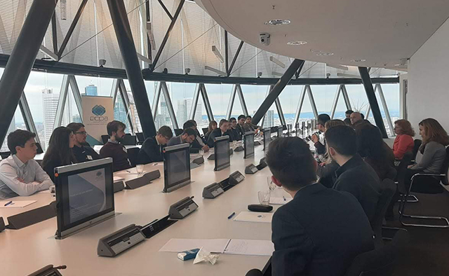 Students at the EIOPA