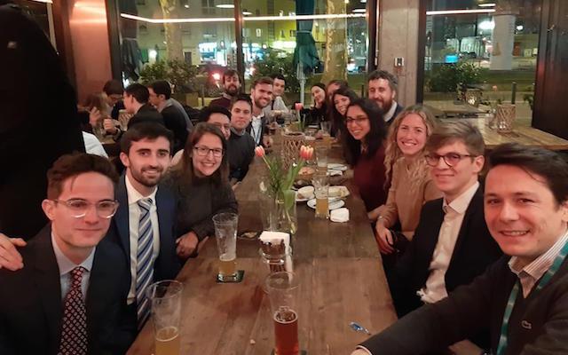 Alumni meetup in Frankfurt, Germany