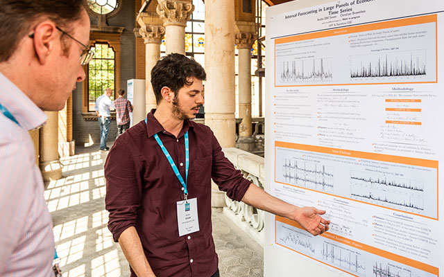Alumni present their work at BGSE Summer Forum
