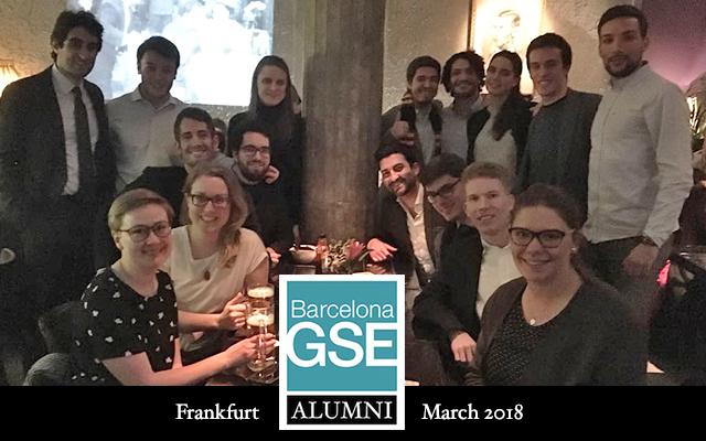 alumni in Frankfurt