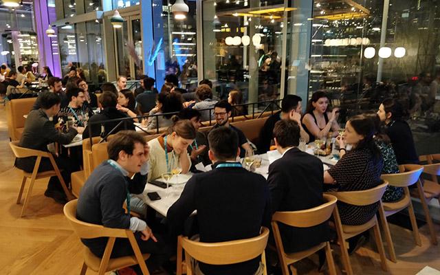 alumni networking dinner