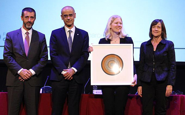 Melissa Dell receives the Calvó Prize in Andorra