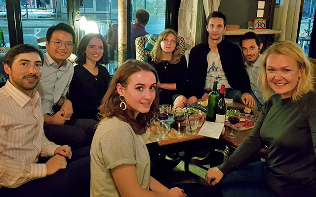 Autumn apero for alumni in Paris