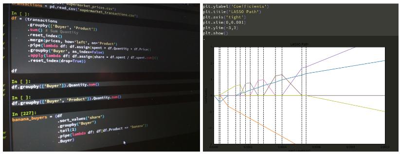 code screenshots