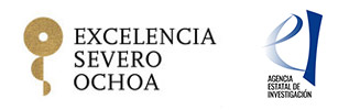 logos of the Severo Ochoa Excellence Program and the State Research Agency