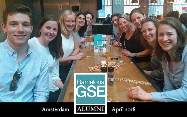 Alumni get-together in Amsterdam