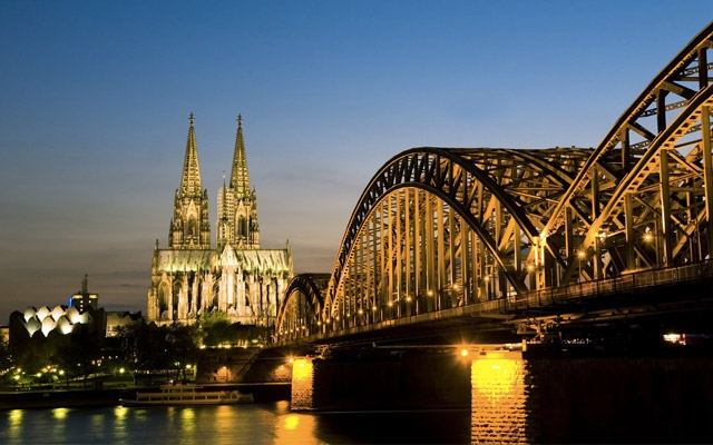Skyline of Cologne