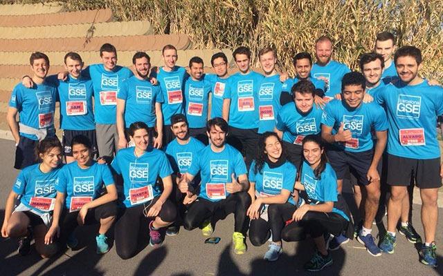 BGSE runners at Unirun 2018