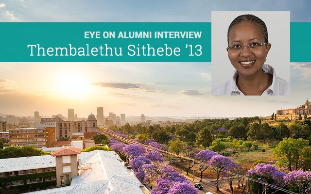 Eye on Alumni Interview