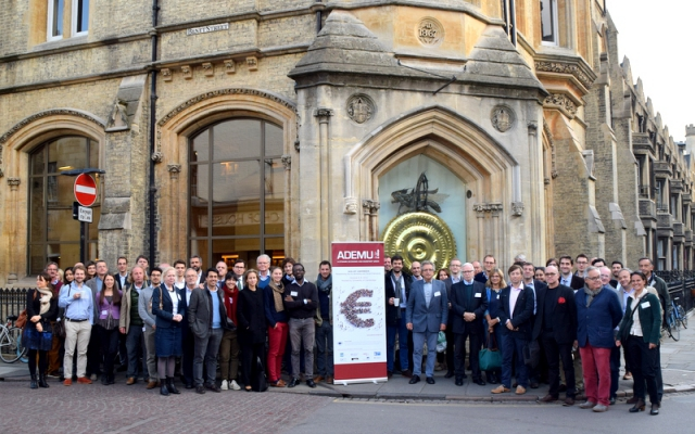 Ademu Project Kicks Off with Conference in University of Cambridge