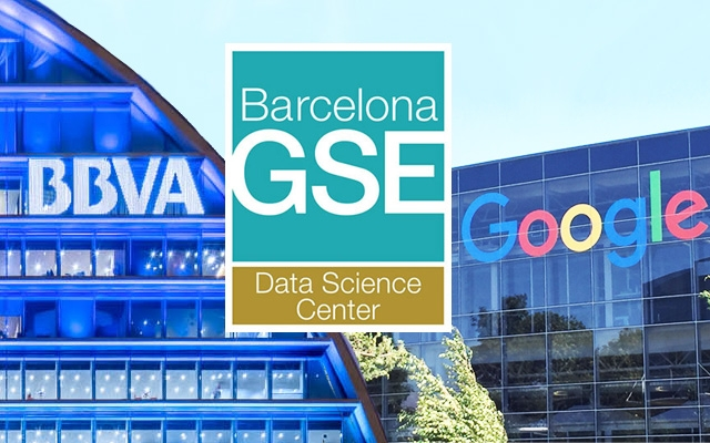 Barcelona GSE Data Science Center receives research funding from BBVA Foundation and Google