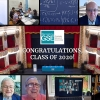 Graduation 2020 speakers - Esther Duflo, Andreu Mas-Colell, and members of the BSE Scientific Council