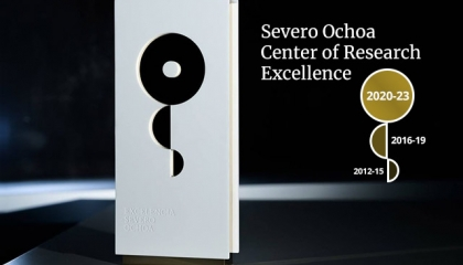 Severo Ochoa statue awarded to Centers of Research Excellence