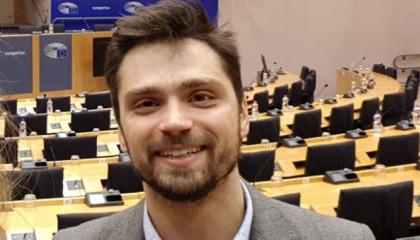 Nuno Eça at European Parliament